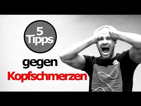 5 Tipps gegen Kopfschmerzen / Was tun gegen Kopfweh - Migräne Aura bekämpfen / los werden