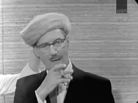 What's My Line?  Groucho returns to the Panel!  Anne Bancroft Nov 15, 1964