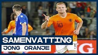 HIGHLIGHTS | Dubbelslag Dani de Wit tegen Jong Cyprus