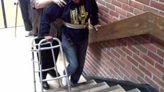 Regular Walker on Stairs