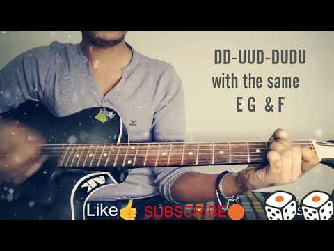 TERA ZIKR|darshan Raval|GUITAR EASY CHORDS|
