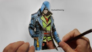 Jacob Frye - Speed Drawing - How To Draw - Assassin's Creed: Syndicate