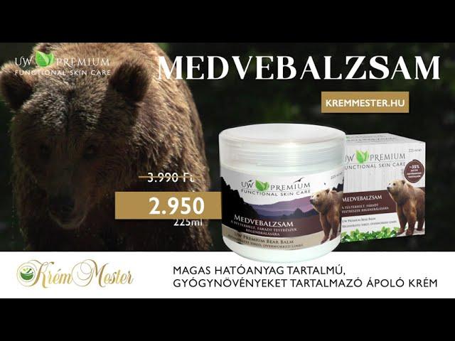 Közös kenőcs medve Medvebalzsam 5ml – erős segítség a bajban