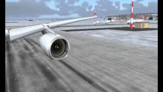SWISS AIRLINES FS2004 A330.wmv
