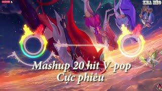 MASHUP CỰC HAY PHIÊU TẾT [ MASHUP 20 V-POP | HOAPROX MIX - NHẠC GÂY NGHIỆN