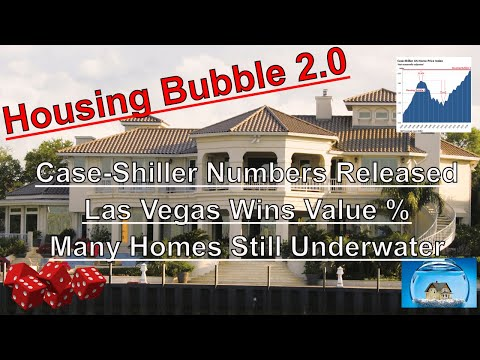 Housing Bubble 2.0 - Case Shiller Numbers Released - Many Homes Still Underwater
