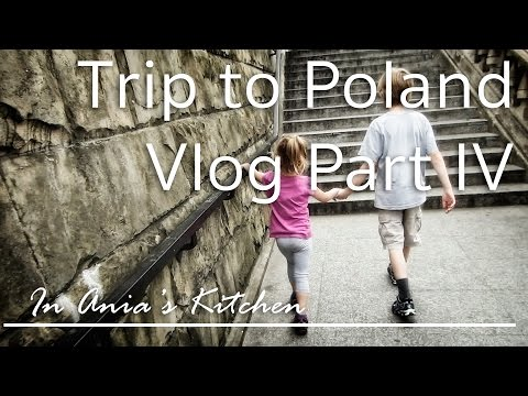 """Trip to Warsaw, walking in """"Old Town""""  and getting ready for Isabella's B-Day! - Travel Vlog Part IV"""