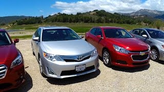 2014 Midsize Sedan Comparison - Kelley Blue Book