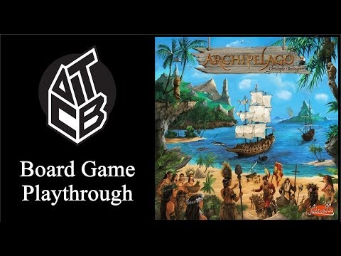 Archipelago - Board Game Playthrough