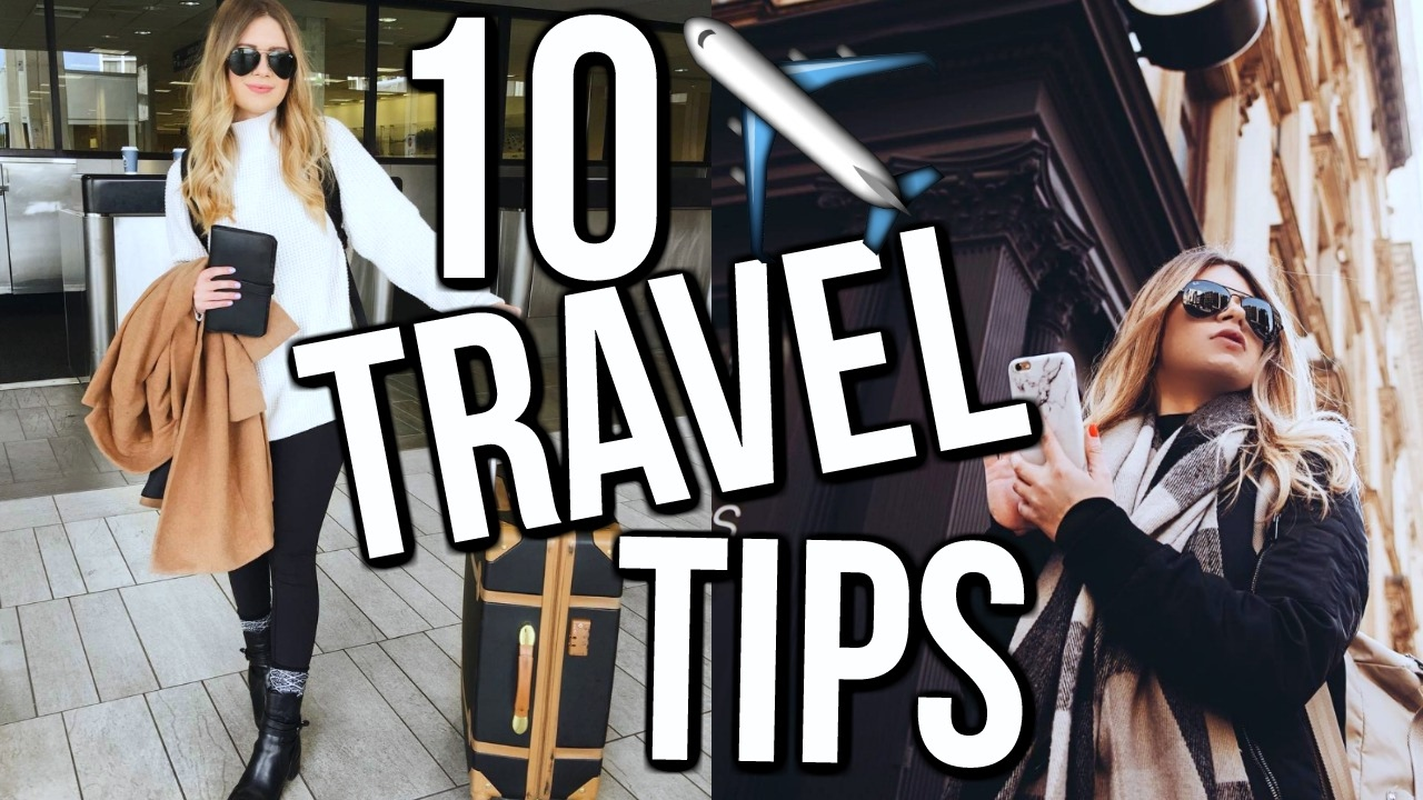 How To Make Traveling Easier | 10 WAYS + HACKS