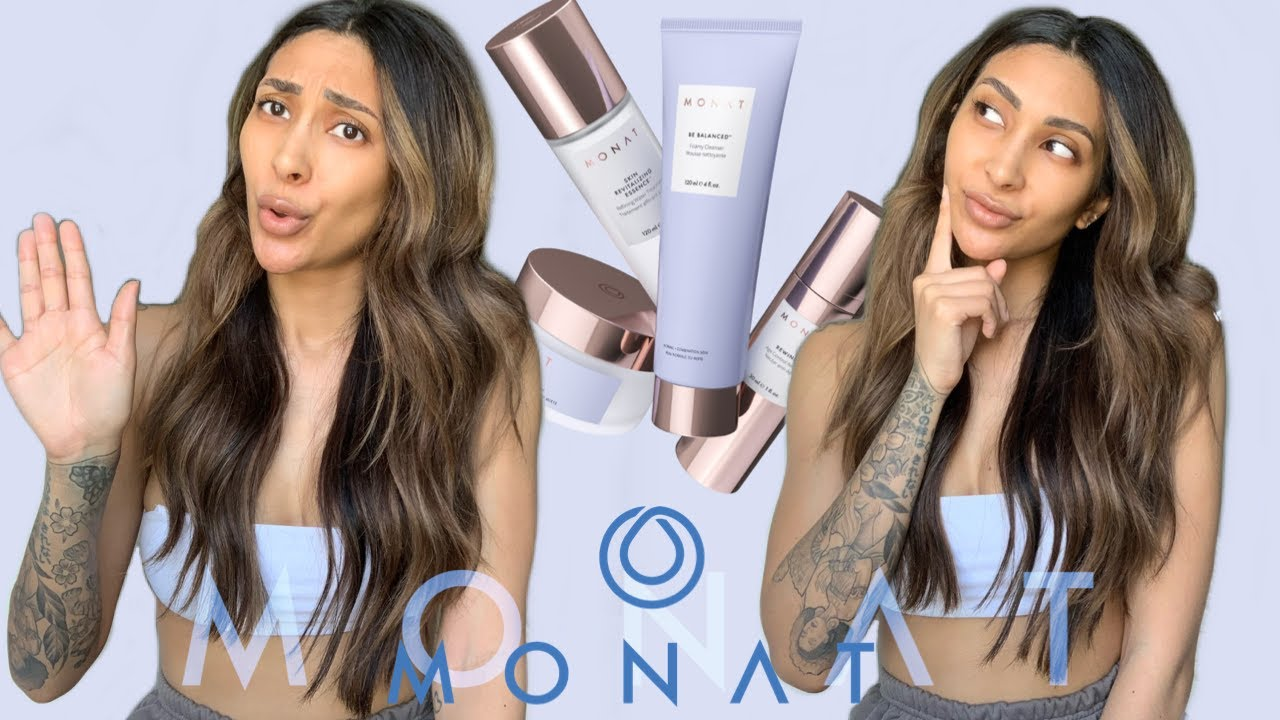 I Tried Monat Skincare For A Month And This Is What Happened Skincare Review Youtube