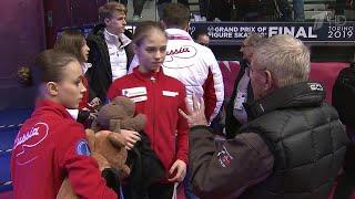 Великолепная четверка Этери Тутберидзе покажет короткие программы в финале Гран при