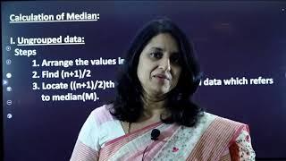 I PUC  STATISTICS   ANALYSIS OF UNI-VARIATE - 07