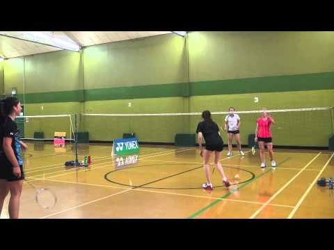 Womens Doubles Highlights - Portsmouth College Open