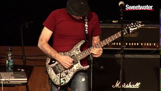 "Joe Satriani Plays ""Surfing With The Alien"" Live at Sweetwater"