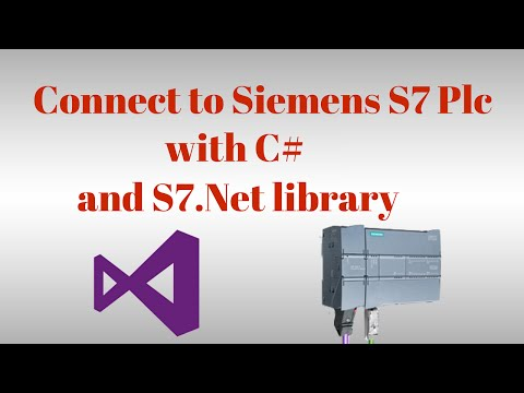 Communication with Siemens S7 Plc with C# and S7 Net plc driver