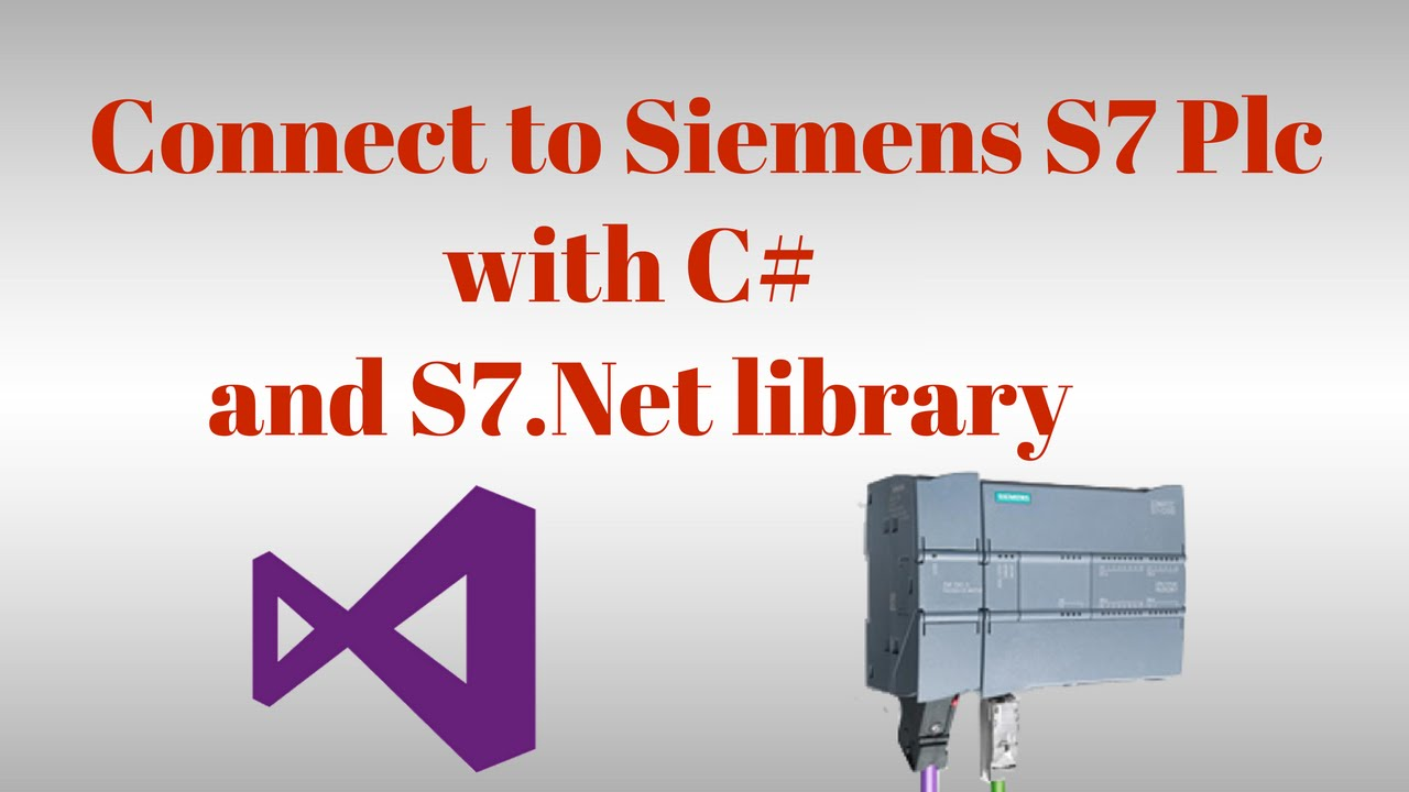 Communication with Siemens S7 Plc with C# and S7 Net plc