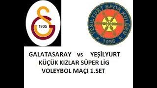 Galatasaray - Yeşilyurt Küçük Kız Voleybol Maçı