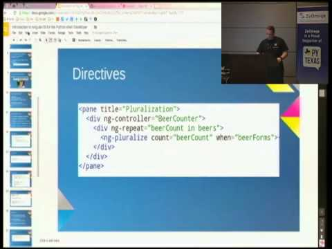 An Introduction to AngularJS for the Python Web Developer