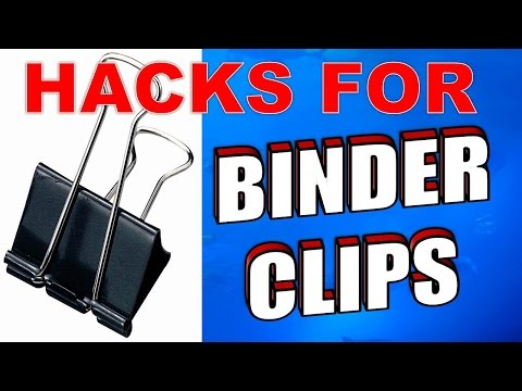 20 Amazing Binder Clips Uses, Life Hacks & Tricks