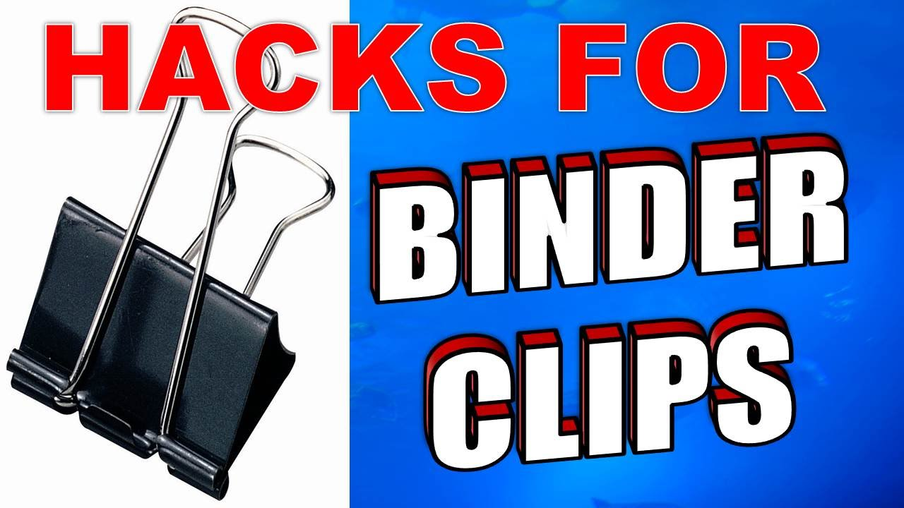 20 Amazing Binder Clips Uses Life Hacks Amp Tricks Youtube