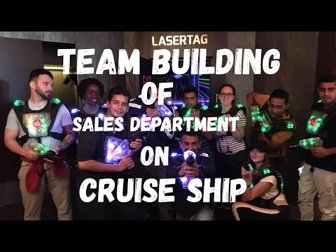 Monthly team building on Cruise ship (Sales Department)