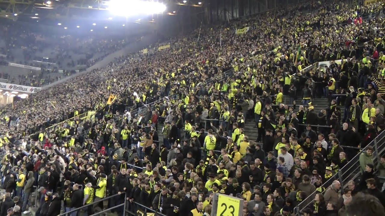 BVB - Schalke Derby Stimmung Borussia Dortmund