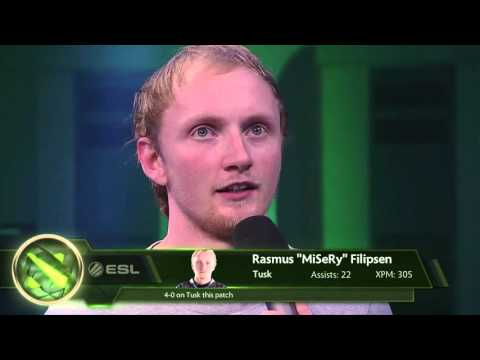 MiSeRy Post-game Interview (Frankfurt Major 2015)