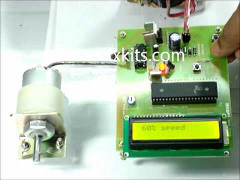 Speed Control Unit Designed For A Dc Motor Using