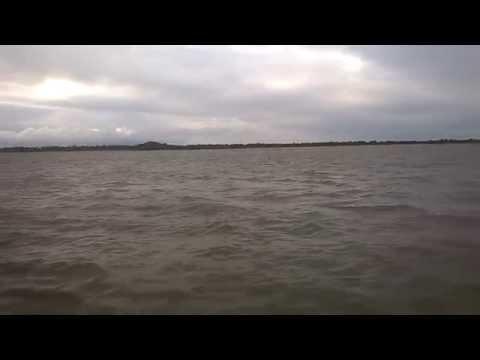 Crossing the Orinoco river