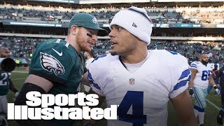 Dak Vs. Wentz: Which Sophomore QB In NFC East Is More Impressive? | SI NOW | Sports Illustrated
