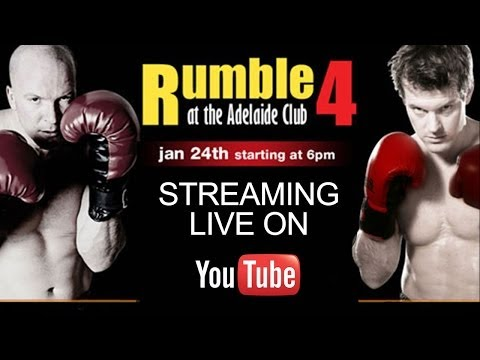 Live Streaming Sports: Rumble at the Adelaide Club