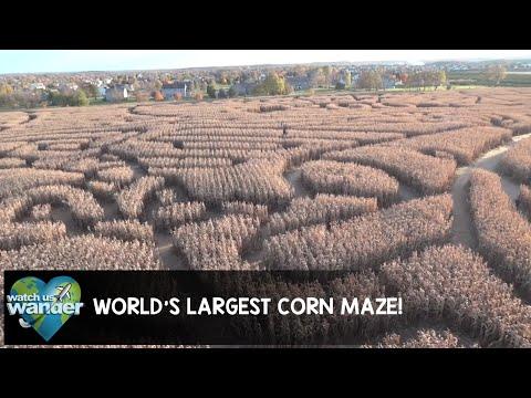World's Largest Corn Maze!