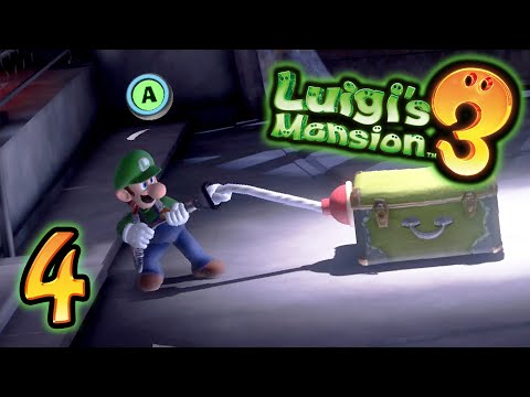 Luigi's Mansion 3 (Part 4) - Plunging into Danger [Switch Gameplay]