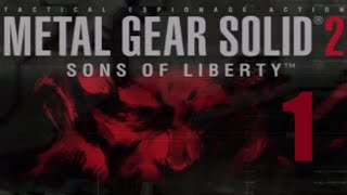 PS2 Longplay - Metal Gear Solid 2: Sons of Liberty (Part 1 of 8)