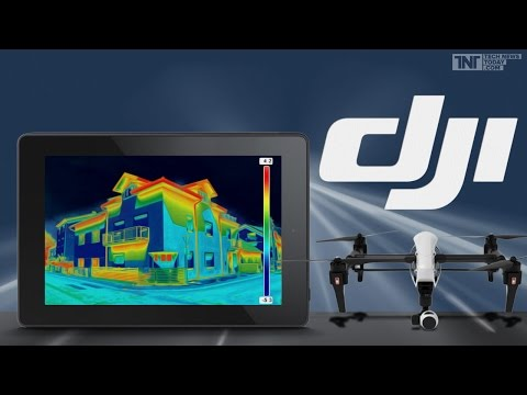 Zenmuse XT - The World Leader in thermal imaging Camera Drones from FLIR and DJI By Three P