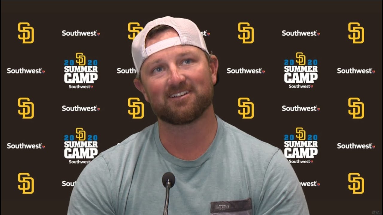 Padres closer Kirby Yates on re-joining team, uncertainty as a free agent, bullpen strength & more