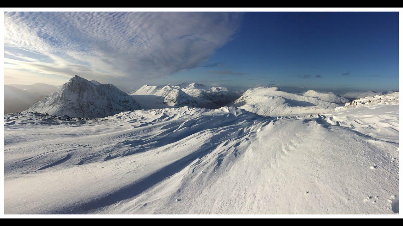 in of winter landscape