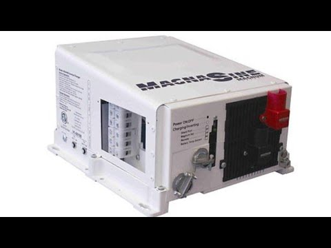 MAGNA SINE MAGNUM ENERGY MS4024 INVERTER CHARGER Ep#2 - The Testing Just Starting
