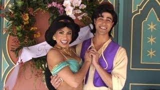 Princess Jasmine and Aladdin for Limited Time Magic True Love Week at Disney's Magic Kingdom