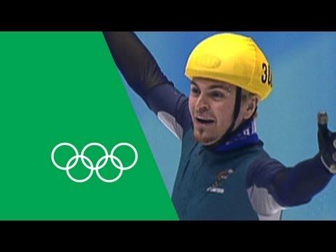 Steven Bradbury - An Incredible Gold Medal Victory | Olympic Rewind