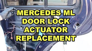 Mercedes benz Ml320,ml350 Ml Series Door Lock Actuator Repair Part Back and Front Right Passenger Front and Back passenger
