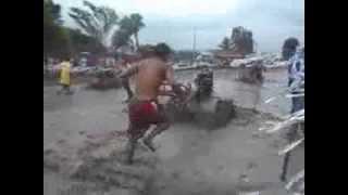 "Handtractor Racing ""Barangay Sta. Maria, Mansalay, Oriental Mindoro "" Palyan Festival 2013"""