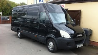 2007 IVECO DAILY 35S18 EXTRA LWB HIGH ROOF VAN REVIEW