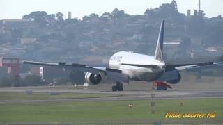 UNITED N786UA- Landing GRU Airport- Aeroporto Internacional de Guarulhos