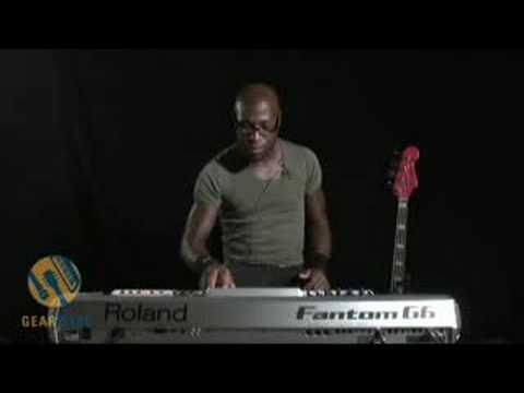 Roland Fantom G6: Warren Harris Cooks Up A Demo #1