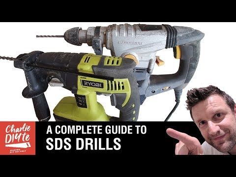 Why Buy An SDS Plus Rotary Hammer Action Drill?