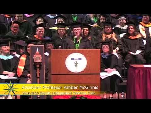Chesapeake College 2018 Commencement - Amber McGinnis