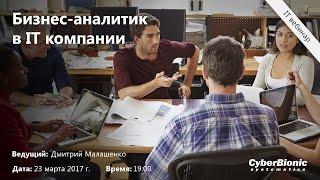 видео Аналитик: что нужно знать