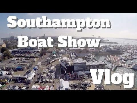 Vlog day out at Southampton Boat Show